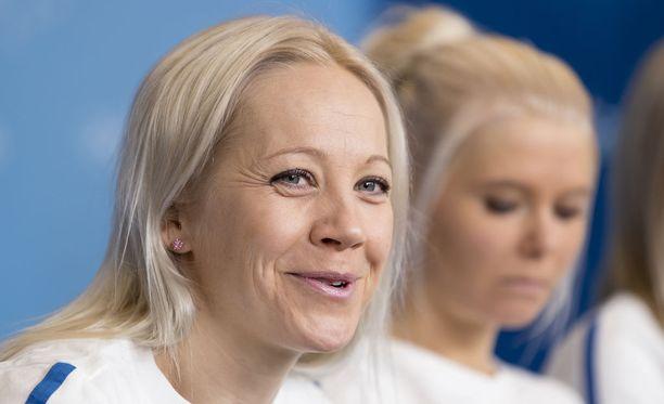 Kaisa Mäkäräinen on suomalaisten ykkösnainen, kertoo kysely.