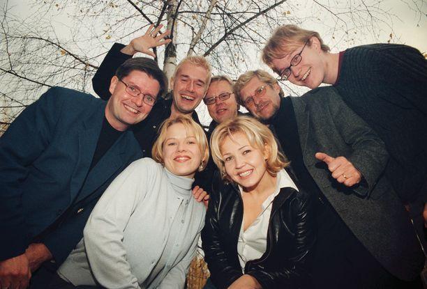 Pääkkönen (oik.) oli mukana Bumtsibum-ohjelmassa neljä kertaa.