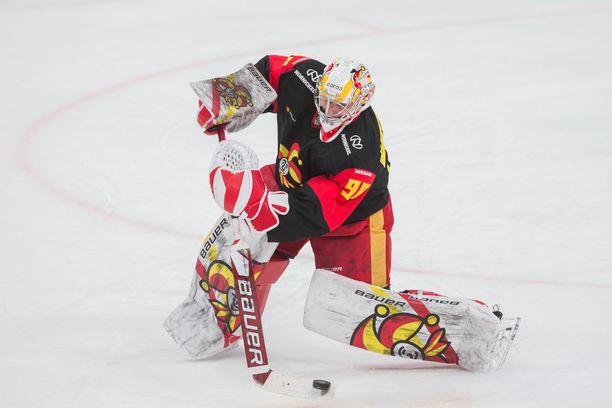 Janis Kalnins pelasi päättyneellä kaudella 32 ottelua.