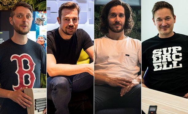 Supercellin Lasse Louhento, Mikko Kodisoja, Timur Haussila ja Ilkka Paananen kertovat Iltalehden haastattelussa menestystarinan vaiheista vastoinkäymisiä unohtamatta.