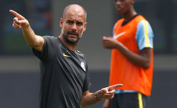 Pep Guardiola on tuonut kurin Cityyn.