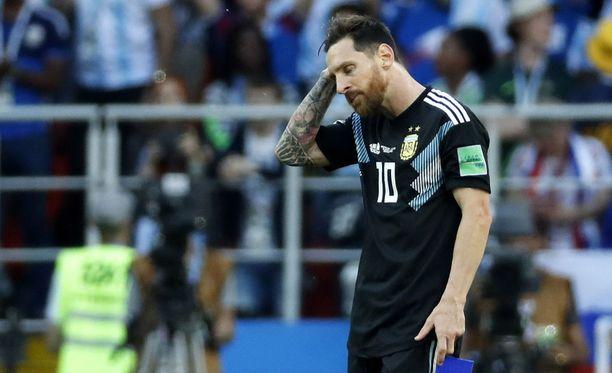 Messi oli pettynyt kisat avanneeseen Islanti-tasapeliin.