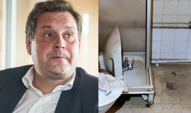 Jethro Rostedtin vuokra-asunto oli hurjassa kunnossa.