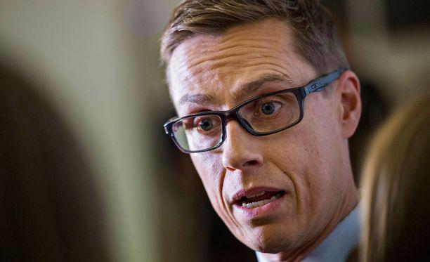 Kokoomuksen puheenjohtaja Alexander Stubb ei paljasta vielä uutta puoluesihteeriä.