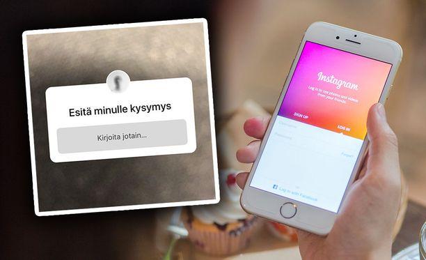 Instagramissa voi esittää nyt kysymyksiä.
