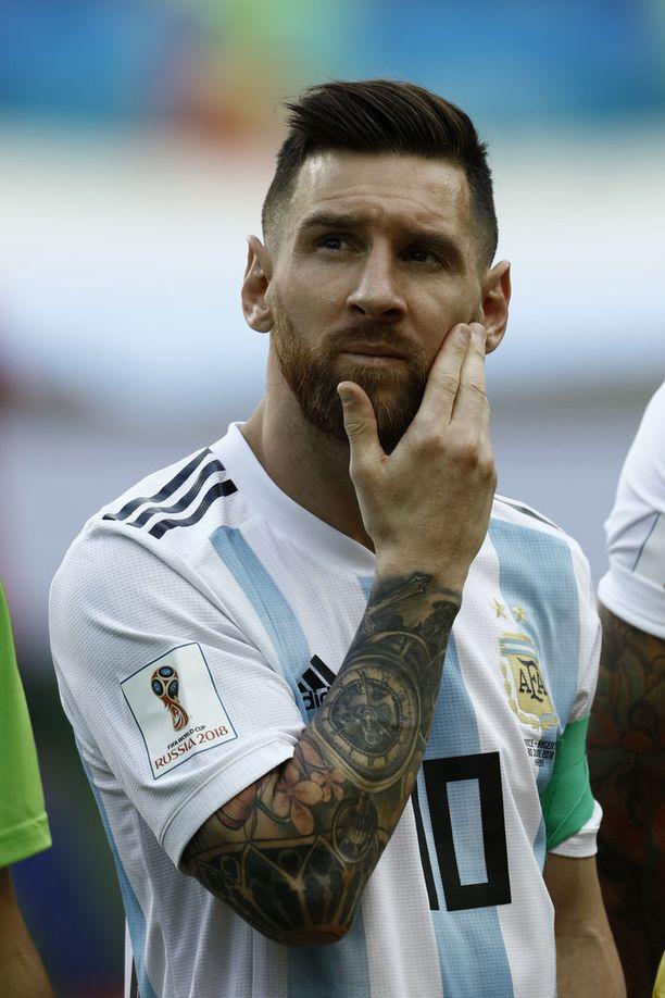 Lionel Messi on maailman parhaiten palkattu jalkapalloilija.
