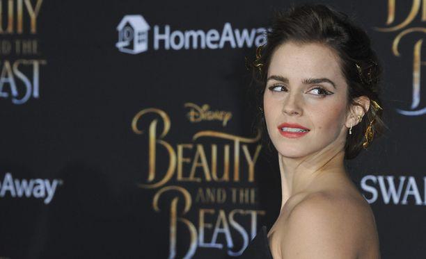 Emma Watson nähdään Kaunotar ja Hirviö -elokuvan pääosassa.