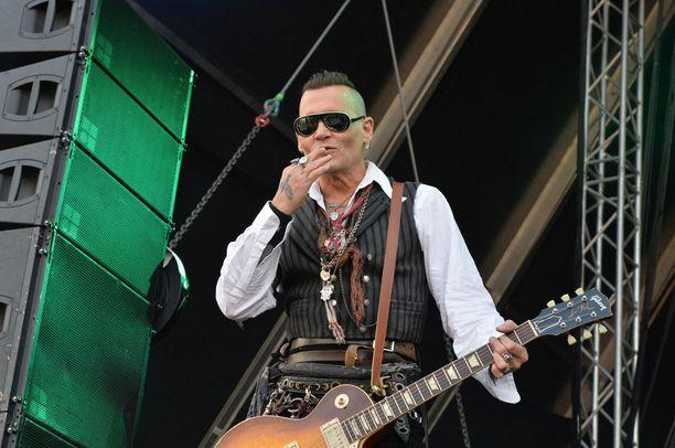 Hollywood-tähti Johnny Depp on valittu useita kertoja maailman seksikkäimmäksi mieheksi.