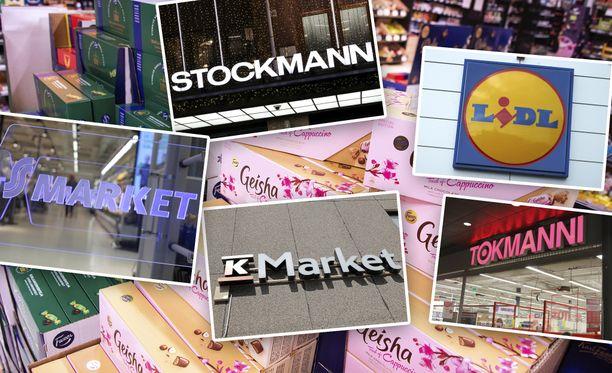 Joulutuotteet menevät kaupaksi jo lokakuun puolivälissä, kertovat suuret kauppaketjut.