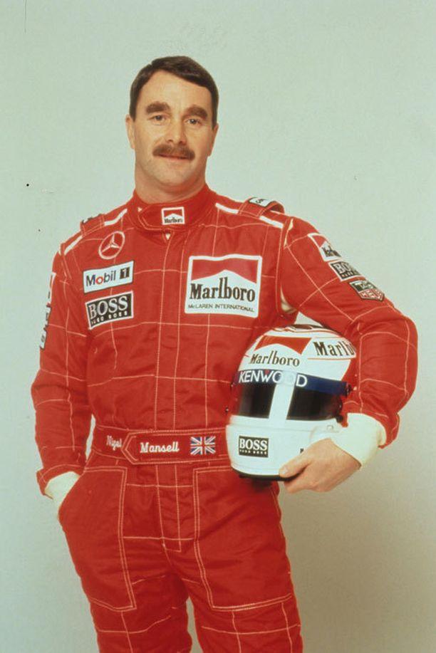 Nigel Mansellin mielestä uudet F1-painorajat syrjivät isompia kuljettajia.