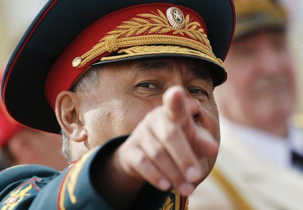 Puolustusministeri Sergei Shoigu ideoi armeijan olympialaiset kolme vuotta sitten.