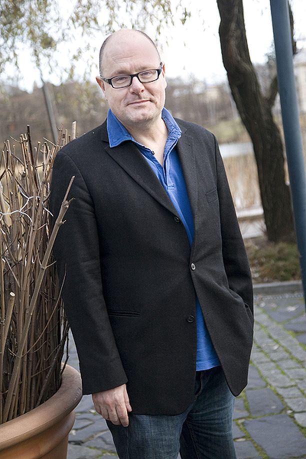 Ruben Stiller Helsingin Töölönlahden rannassa vuonna 2008.