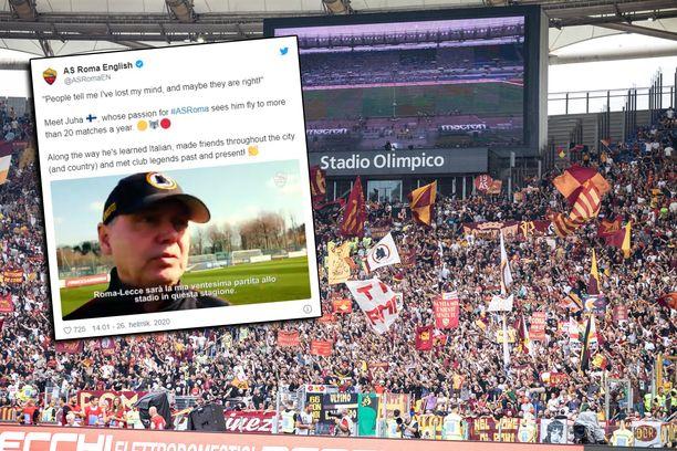 Suomalainen Juha sai huomiota AS Romalta.