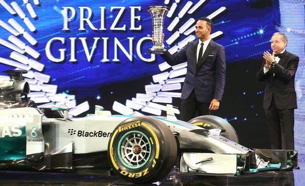 Lewis Hamilton juhli viime kauden ylivoimasella ajokilla maailmanmestaruutta.