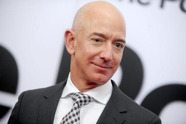 Jeff Bezos on  yksi maailman rikkaimmista ihmisistä.