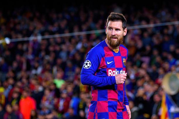 Osuuko Lionel Messi Napolia vastaan?