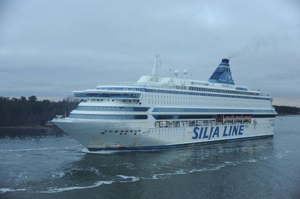 Silja Europa remontoitiin ja se palasi liikenteeseen viime maanantaina. Kuva vuodelta 2008.
