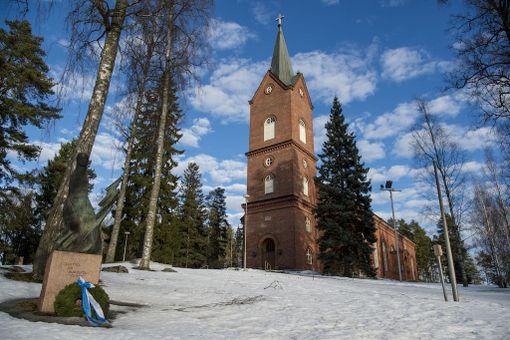 Mäntsälän kirkko.