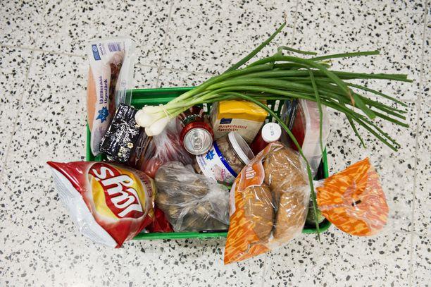 Tuotteet kannattaa laittaa ostoslistaan siinä järjestyksessä, jossa ne ovat kaupassa.