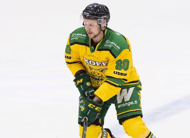 Taavi Vartiainen nähtiin viime kaudella Ilveksen paidassa ainoastaan kauteen valmistavissa harjoitusotteluissa. Liigapelejä hän ei psyykkisen sairautensa takia pystynyt pelaamaan.