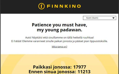 Frozen 2 ilmestyi ensi-iltaan ja Finnkino jäätyi – verkkosivujen lipunmyynnin vika on viimein paikallistettu