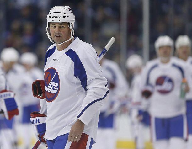 Dale Hawerchuk loisti Winnipeg Jetsissä läpi 1980-luvun. Kuva näytösottelusta vuodelta 2016.