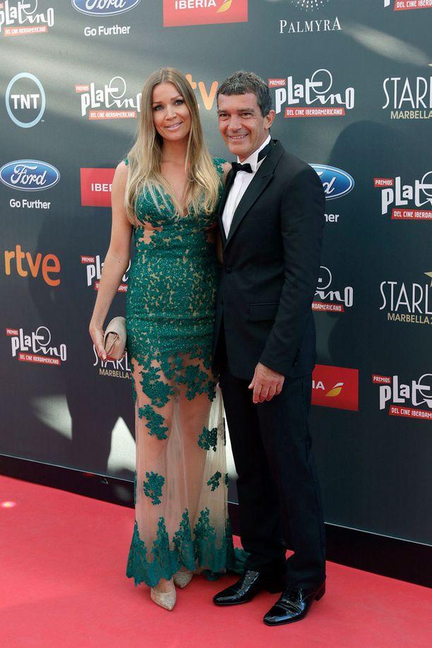 Nicole ja Antonio näyttivät rakastuneilta lauantaina Platino Awards -gaalassa Marbellassa.