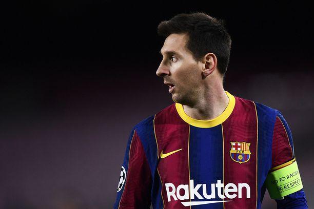 Lionel Messin ennätystä sivuava maali ei riittänyt Barcelonan voittoon asti.