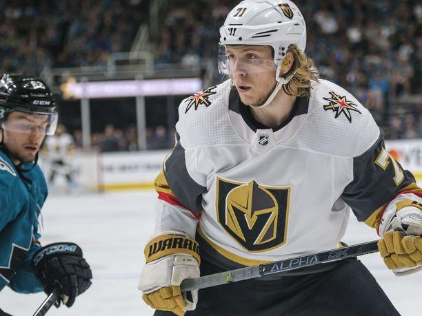 William Karlsson on Vegasin kantavia voimia.