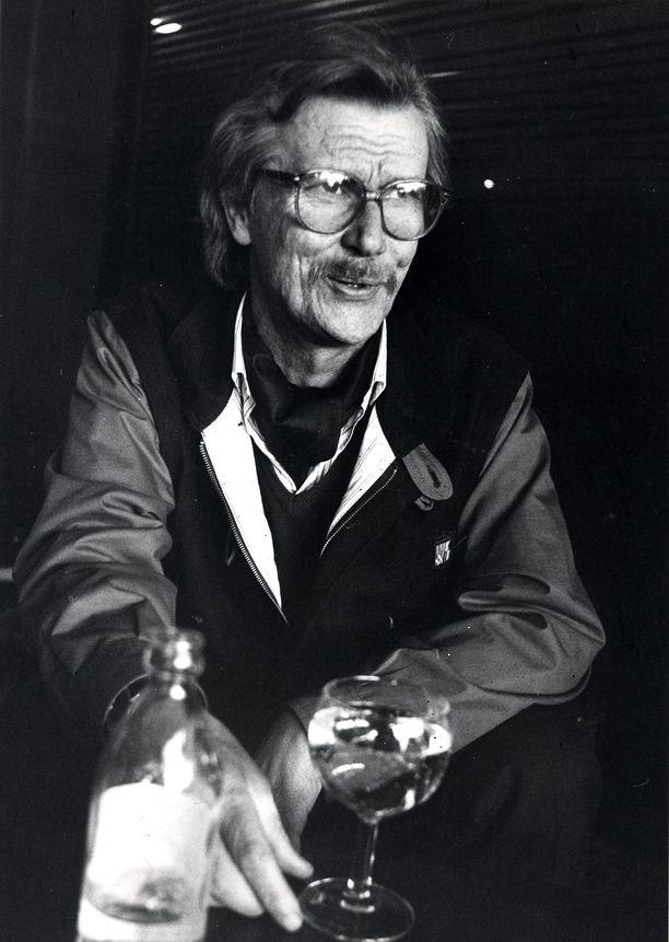 Kuvan ottamisen aikoihin vuonna 1987 Juha Vainio oli ollut raittiina jo kymmenen vuotta.