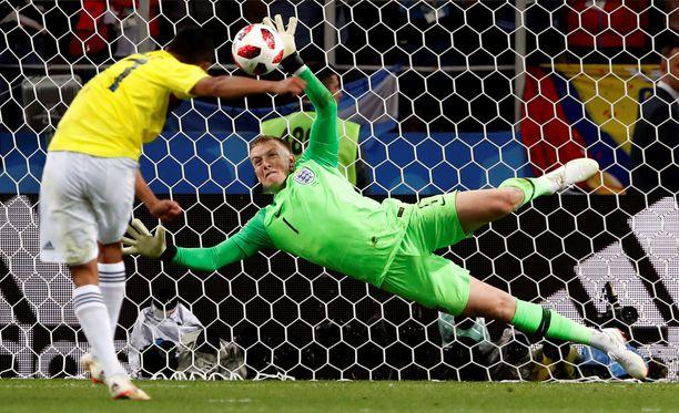 Kolumbia ottelu tekee