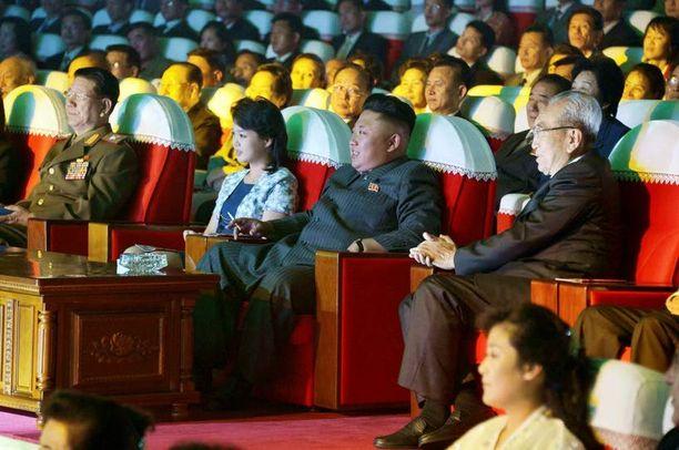 Kim Jong-un vieraili puolisonsa kanssa konsertissa kolme viikkoa sitten. Sen koommin häntä ei ole julkisuudessa nähty.