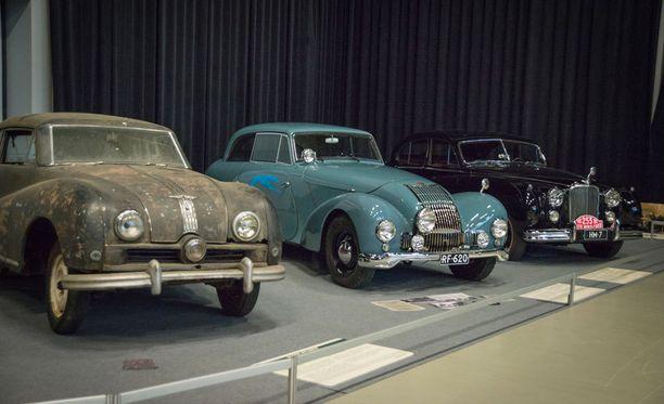 50-lukua: Austin Atlantic, Allard ja Jaguar.