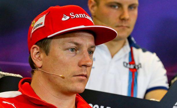 Kimi Räikkönen ei ollut pettynyt aika-ajojen jälkeen. Arkistokuva.