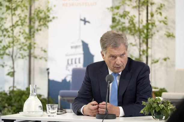Tasavallan presidentti Sauli Niinistö nauttii laajaa kansansuosiota.