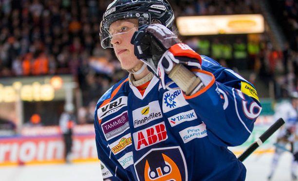 Hurjavireinen Patrik Laine on rankingin kakkonen.