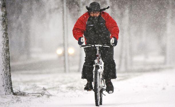 Koko Etelä-Suomeen saataneen tällä viikolla vihdoin kunnolla lunta.