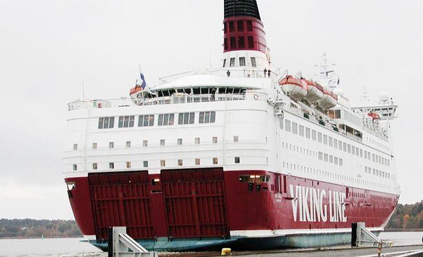 Viking Amorella seilaa Tukholman ja Turun väliä.