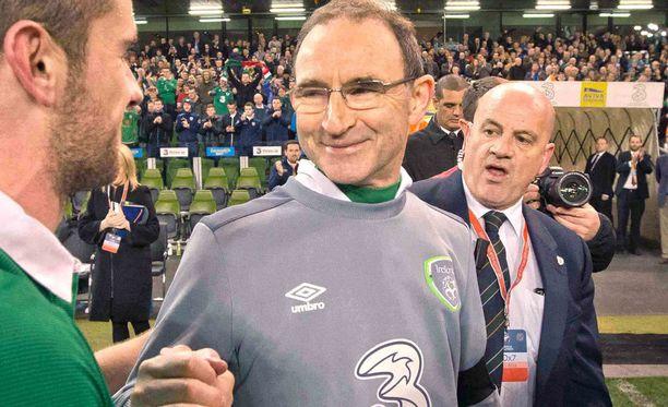 Martin O'Neill on luotsannut Irlantia vuodesta 2013 lähtien.