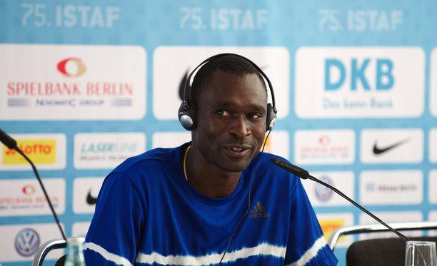 David Rudisha ei osallistu Lontoon MM-kisoihin.