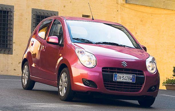 Intiassa valmistettavan pikku-Suzukin hinnat ovat kilpailukykyiset.