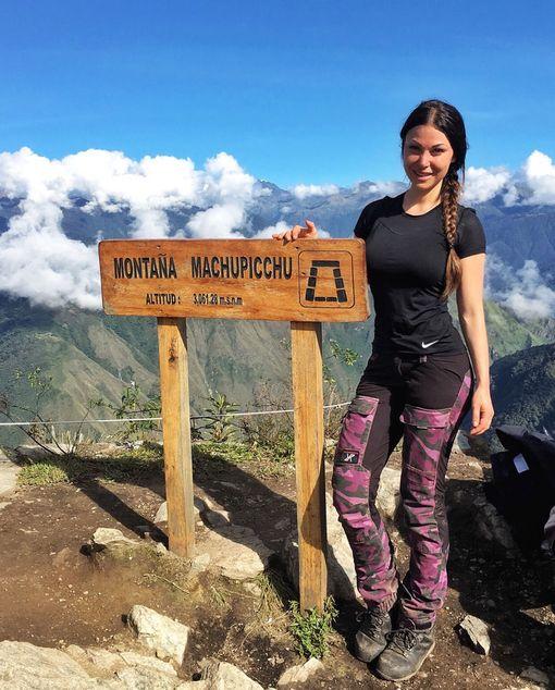 Melissa on vaeltanut myös Andeilla.