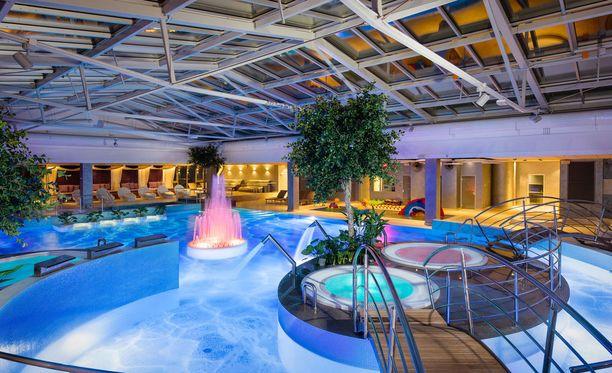 Viron kylpylät ovat suomalaistenkin suosiossa.