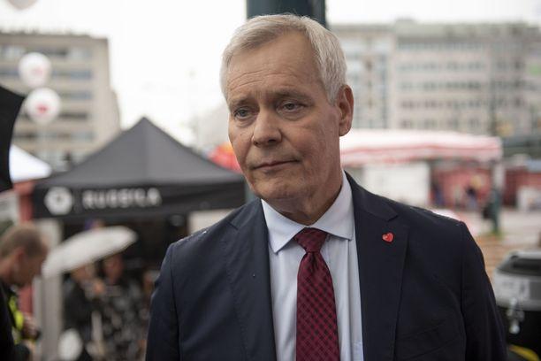 Pääministeri Antti Rinteelle on vielä mysteeri, mistä Irakin ulkoministeriön tiedotteessa on kyse.