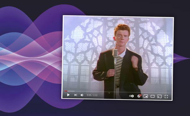 Never Gonna Give You Up -musiikkivideo ei ole koskaan näyttänyt paremmalta.