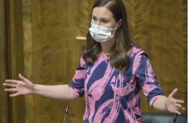 Sanna Marin ja oppositio ovat viime päivinä olleet kovasti sanasotasilla.