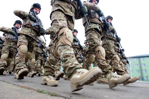 Afganistanissa palvelee sotilaista edelleen useista eri maista. Arkistokuva.