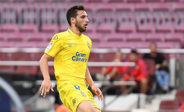 Jonathan Calleri viimeisteli rankkarimaalin Barcelonan verkkoon torstaina.