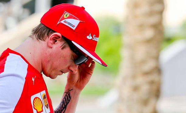 Kimi Räikkönen oli toisten harjoitusten kolmanneksi nopein.