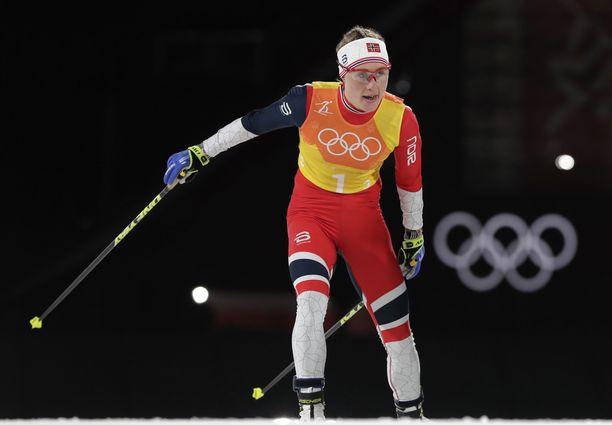 Ragnhild Haga on kaksinkertainen olympiavoittaja.